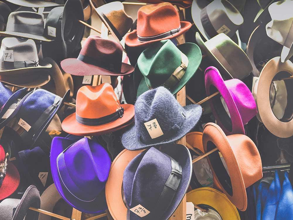Die perfekte Hutform für jeden Typ